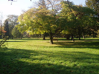 park in South London, England