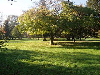 Hampton Court Park park in South London, England