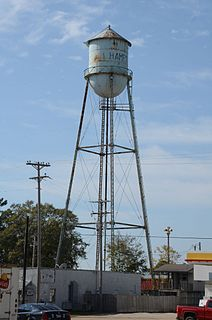 Hampton, Arkansas City in Arkansas, United States