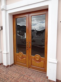 A French Window/door, Known As Patio Door In UK, And Portafinestra In  Italy, Where It Is A Common Window Door Type