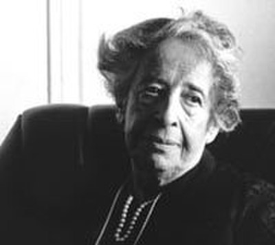 Hannah Arendt, German-American Jewish philosopher and political theorist