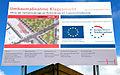 Hannover City 2020 +, Infotafel Umbaumaßnahme Klagesmarkt 2013 Abriss der Tiefbunkeranlage zur Vorbereitung der Klagesmarktbebauung.jpg