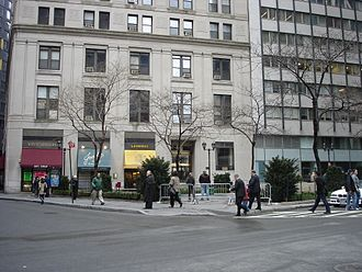 Hanover Square (Manhattan) - Looking north.