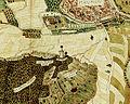 Hans Peter Eberlin, 1578, Heilbronn Wartberg, Blick auf Karmeliterkloster, Sülmertorturm, Nikolaikirche und Franziskanerkloster.jpg