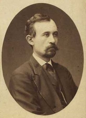 Hans Smidth - Hans Smidth; photographed by N.E. Sinding (1864)