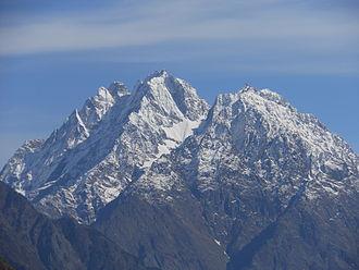Munsiari - Image: Hansling Peak Munsyari