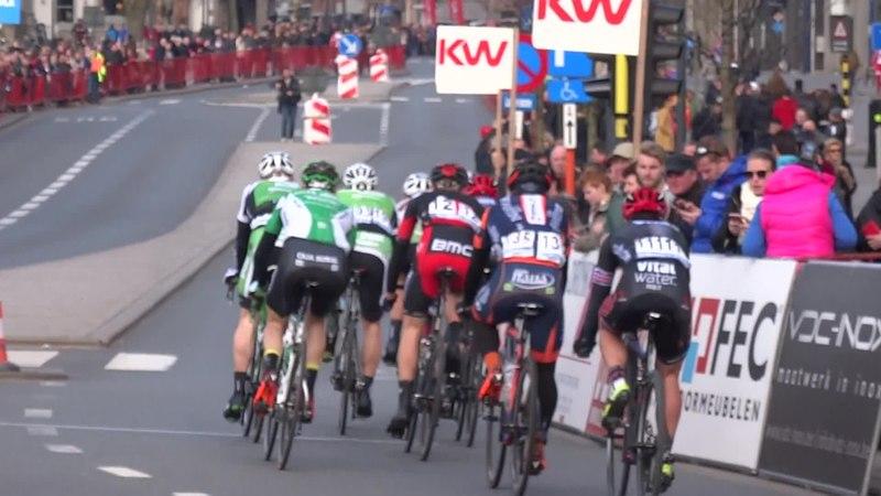 File:Harelbeke - Driedaagse van West-Vlaanderen, etappe 1, 7 maart 2015, aankomst (A49A).ogv