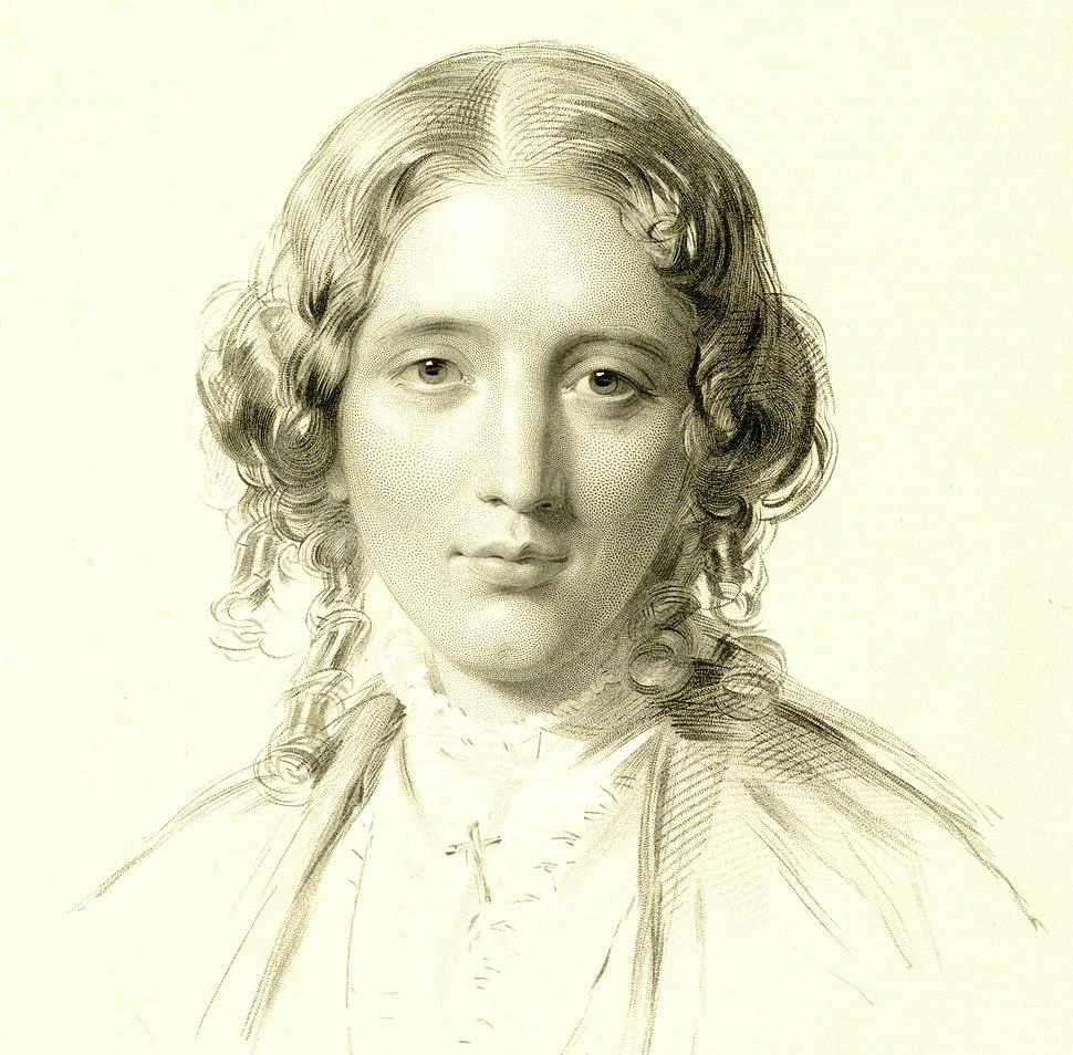 Harriet Beecher Stowe by Francis Holl