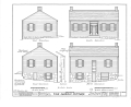 Harris Cottage, 425 Church Street, Mineral Point, Iowa County, WI HABS WIS,25-MINPO,4- (sheet 2 of 3).png