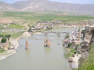 Aq Qoyunlu - Historical Hasankeyf in Aq Qoyunlu territory.