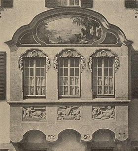 Elegant Haus Zeller, Erker.