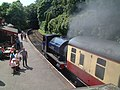 Haverthwaite railway station MMB 05 Princess.jpg