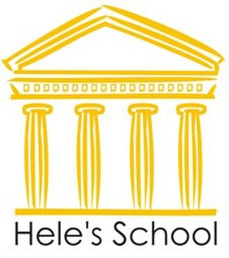 Hele's School - Image: Hele's School Plympton Logo