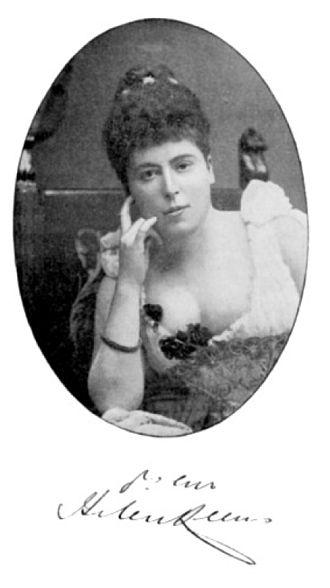 Ellen Buckingham Mathews - Helen Mathers ca. 1893 by Stanislaw Walery