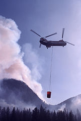 Helicopter at Yellowstone 1988.jpg