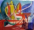 Helmuth Macke, Studie nach dem Gemälde Gazelle von Franz Marc (36058912405).jpg