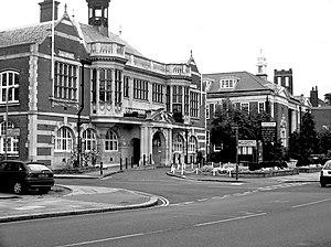 Hendon - Hendon town hall.