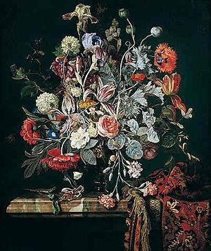 Hendrick Fromantiou - Stilllife with flowers