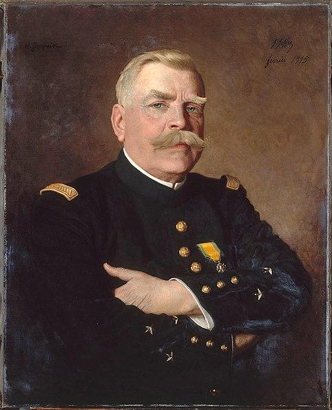 JACQUER Henri, Portrait du général Joffre, Huile sur toile, 1915