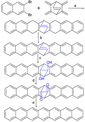heptacene synthesis