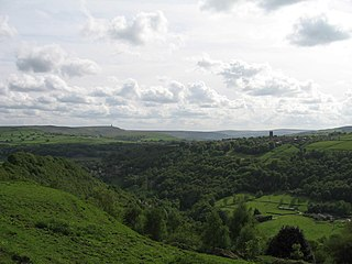 Heptonstall Village and civil parish in West Yorkshire, England