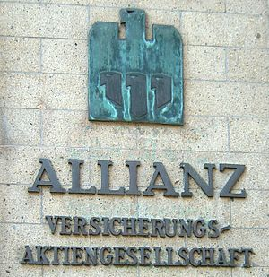 Allianz - The original Allianz logo, designed in 1923 by Karl Schulpig.