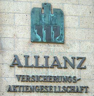 Allianz - The original Allianz logo, designed in 1923 by Karl Schulpig.