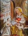 Hinterglasbild Hl Anna lehrt Maria Italien 18Jh.jpg
