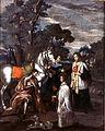 Hinterglasgemälde Rudolf von Habsburg mit dem Priester.jpg
