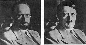 Disguise - Hitler depicted in possible disguises by the United States Secret Service in 1944