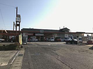 Hizen-Kashima Station Railway station in Kashima, Saga Prefecture, Japan