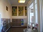 Hoisington, Kansas post office interior face W 1.jpg