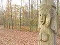 Holzkunst am Havelhoehenweg (Wood Art on the Havel High Way) - geo.hlipp.de - 30274.jpg