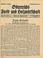Holzkurier Cover 1946