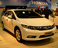 Honda Civic sedan front - 2012 Montevideo Motor Show.jpg