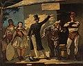 Honoré Daumier - Die Gaukler - 1907 - Österreichische Galerie Belvedere.jpg