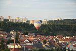 Hot-air balloon OK-4450 above Zámostí, Třebíč, Třebíč District.jpg