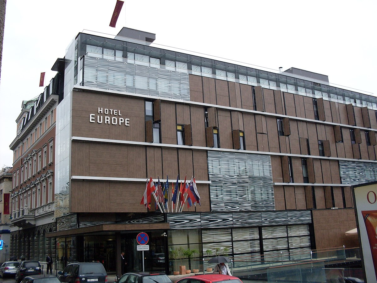 Hotel europe sarajevo wikipedia for Top 10 design hotels europe