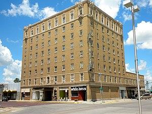 National Register of Historic Places listings in Lincoln County, Nebraska - Image: Hotel Yancy N Platte NE