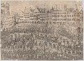 How one entered the church (Folgt wie man zur Kirchen gangen), from a series depicting the wedding of Wolfgang Wilhelm, Duke of Pfalz-Neuberg, Pfalzgraf, and Magdalena, Duchess of Bavaria, in Munich, 1613 (Plate 4) MET DP874840.jpg