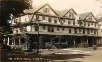 Bartlett, New Hampshire - Howard Hotel c. 1920