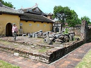Hue, Vietnam - The Citadel - Royal Enclosure -...