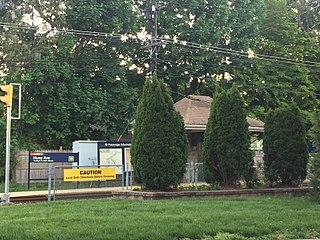 Huey Avenue station SEPTA trolley station