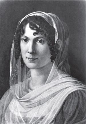 Caroline von Humboldt - Caroline von Humboldt by an unknown artist