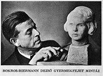 Hungary - Bokros Biermann Dezső during sculptures - Az Est Hármaskönyve 1938 Unknown photographer.jpg
