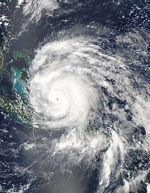 Hurricane Irene - Image: Hurricane Irene Aug 24 2011 1810Z