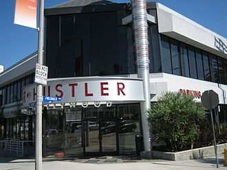 Hustler - Hustler retail store in West Hollywood, California