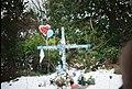 Hwy101 roadside cross in snow.jpg