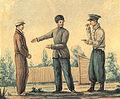 I.D. Yakushkin, P.S. Bobrischev-Pushkin, M.K. Kyuhelbeker in Chita.jpg