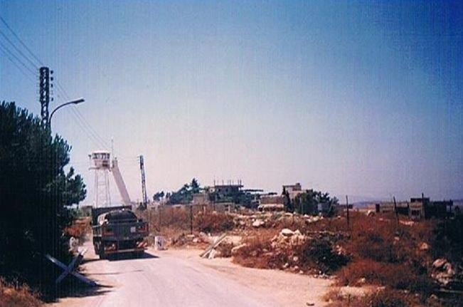 IDF CONVOY IN LEBANON